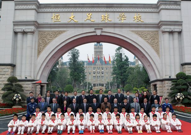 guangzhou evergrande akademi bola sepak terbesar di dunia 9