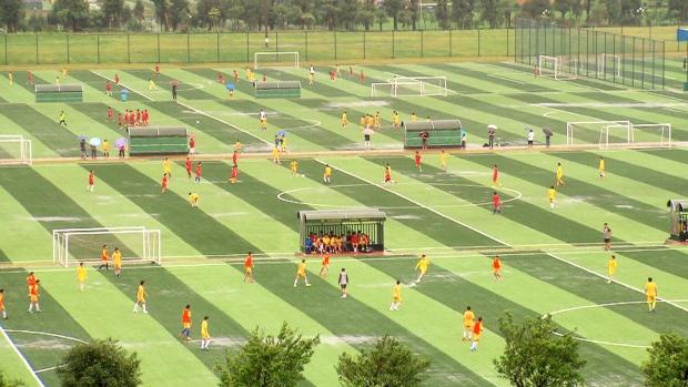 guangzhou evergrande akademi bola sepak terbesar di dunia r