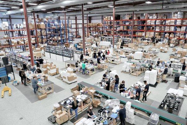 gudang besar potensi perniagaan baru