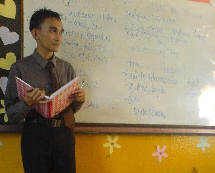 guru yang menjadi contoh