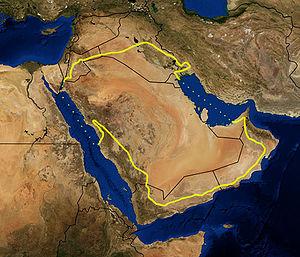 gurun arab gurun paling besar di dunia