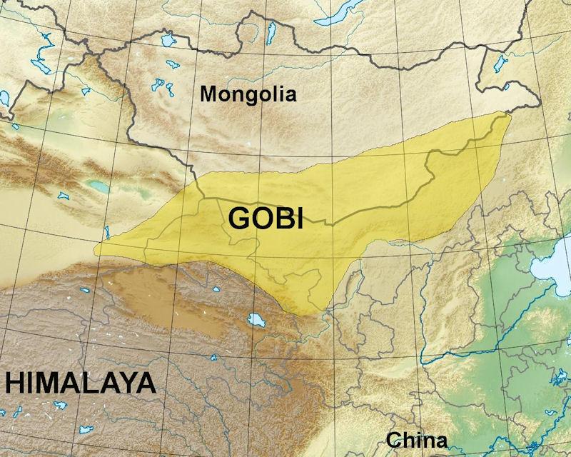 gurun gobi gurun paling besar di dunia 2