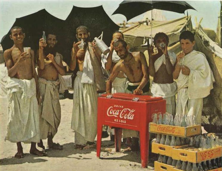 haji coca cola zaman dahulu