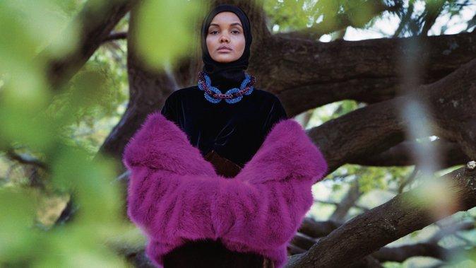halima aden supermodel muslimah pertama dunia 3