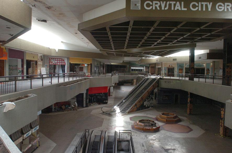 hawthorne plaza mall 10 tempat terbengkalai menakjubkan yang dijumpai dalam google earth 2