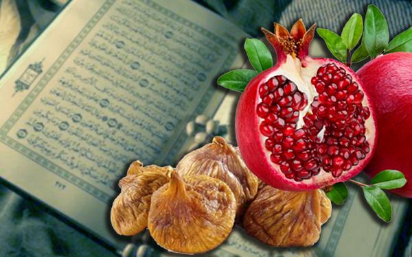header buah yang disebut dalam alquran