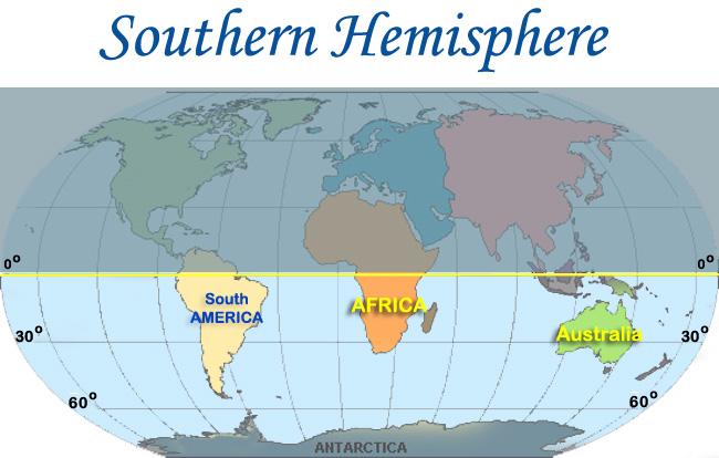 hemisfera selatan