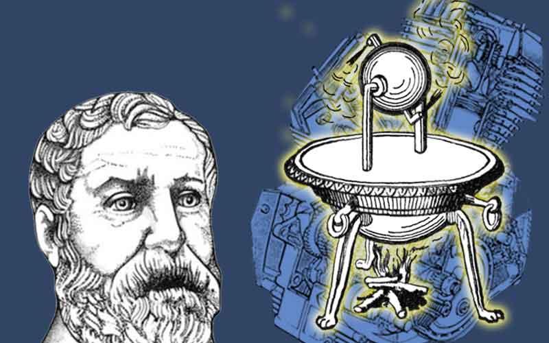 heron ciptaan enjin stim pertama