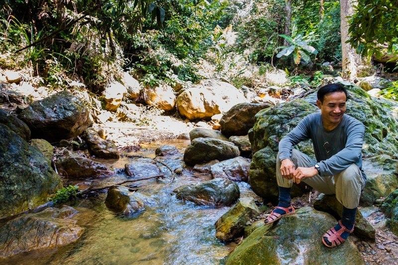 ho khanh individu yang menemui gua hang son doong