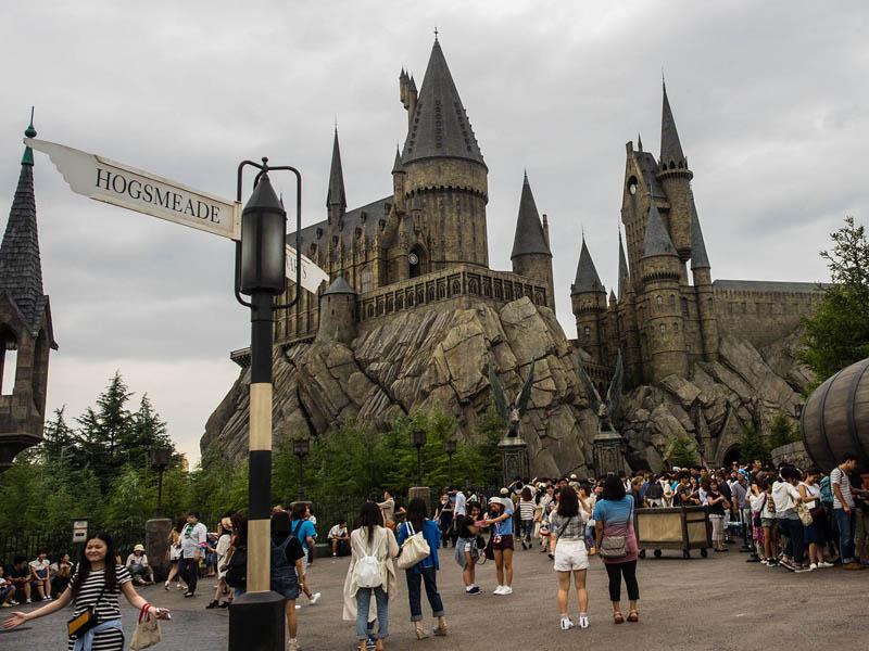 hogwarts di usj universal studios japan osaka