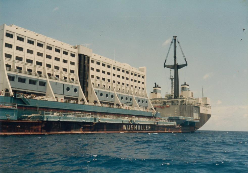 hotel terapung korea utara