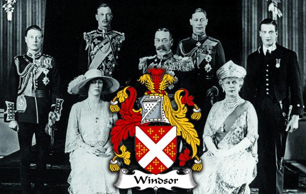 house of windsor family