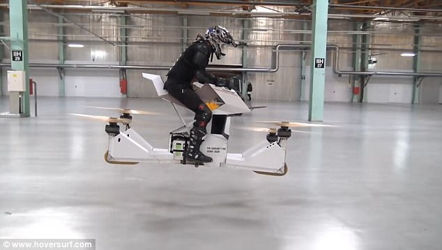 hoversurf scorpion dron teksi terbang singapura