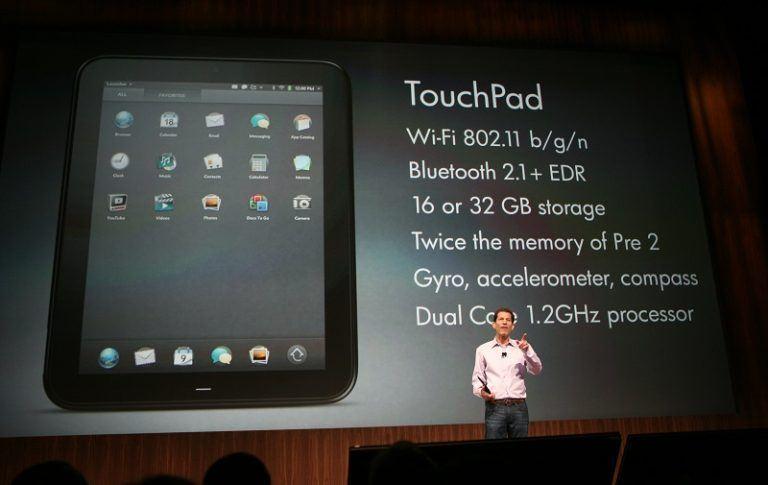 hp touchpad produk menemui kegagalan