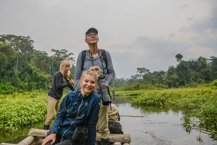 hutan amazon bercuti bersama keluarga