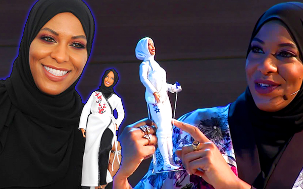 ibtihaj mohamad patung barbie pertama bertudung hijab