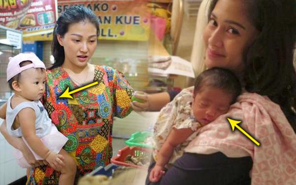 ibu dukung bayi berdiri terus baby berhenti menangis 351