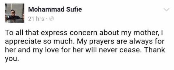 ibu juara af sufi rashid kecewa perlakuan anak 3