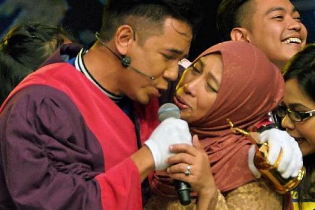 ibu juara af sufi rashid kecewa perlakuan anak 4