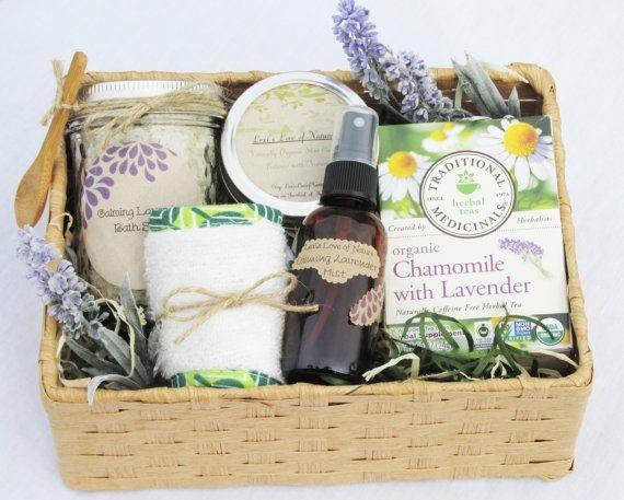 idea buah tangan untuk pesakit di hospital kit mandian organik dengan aromaterapi