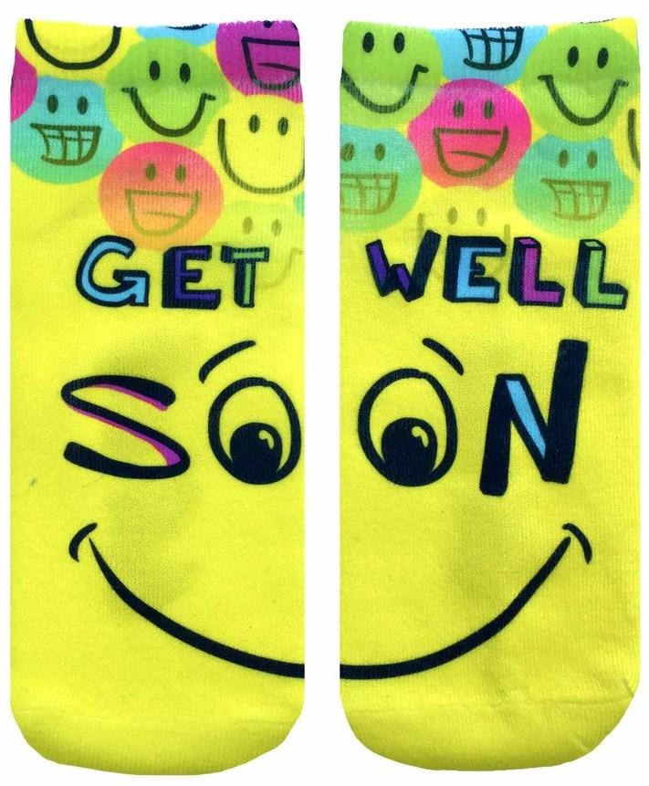 idea buah tangan untuk pesakit di hospital stokin get well soon 574