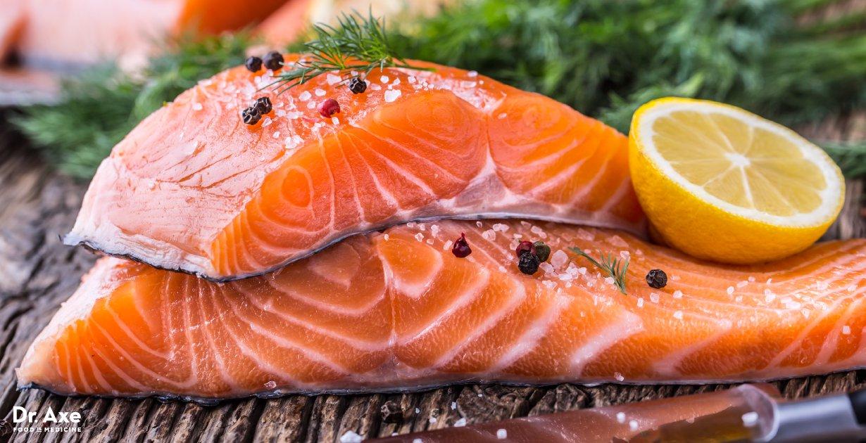 ikan salmon bantu tidur nyenyak