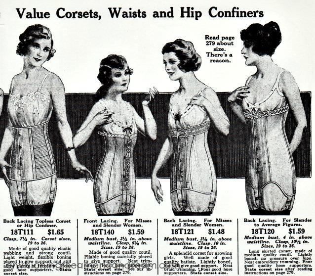 iklan corset zaman dulu lingerie