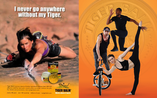 iklan duta tiger balm di hollywood
