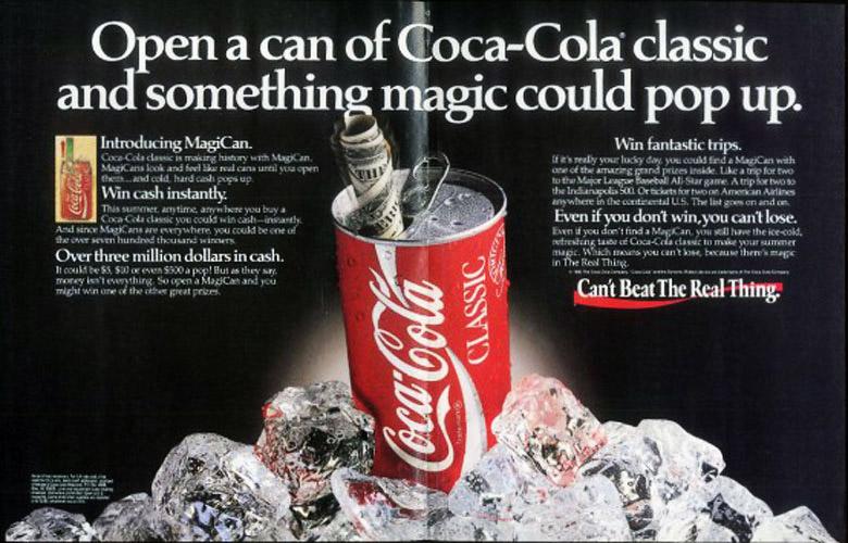 iklan magicans coca cola