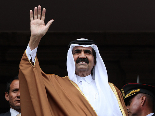 iluminasi hubungan qatar arab saudi2