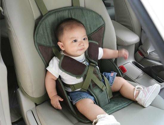 iluminasi kerusi bayi kanak carseat isofix kereta