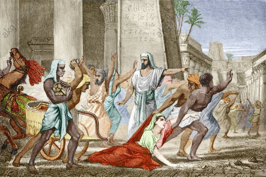ilustrasi hypatia dibunuh