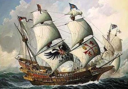 ilustrasi kapal nuestra se ora de atocha