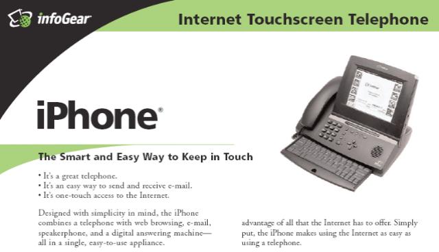 infogear iphone pertama