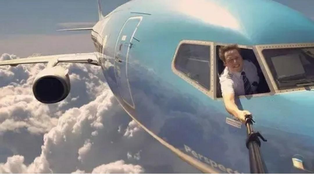 ini cara bagaimana gambar pesawat di udara diambil 5j716