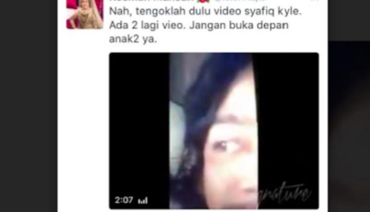 ini respon wakil pengurusan spekulasi video lucah syafiq kyle 1