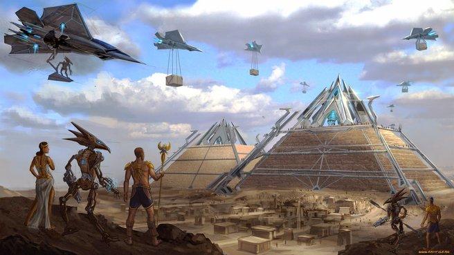 ini teori saintis tentang cara pembinaan piramid 5