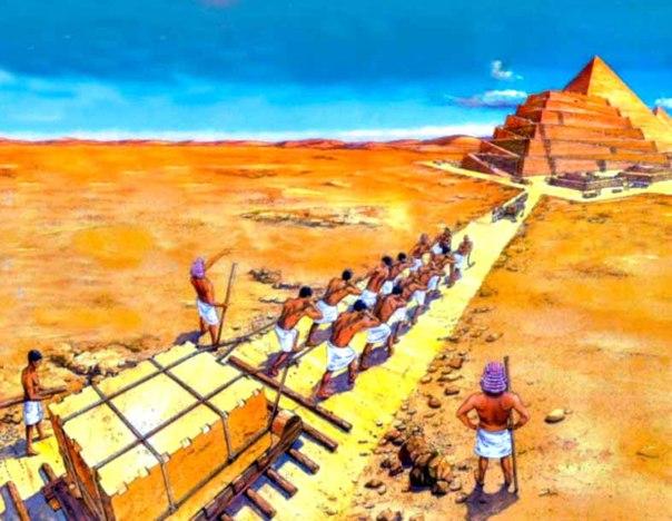 ini teori saintis tentang cara pembinaan piramid 6