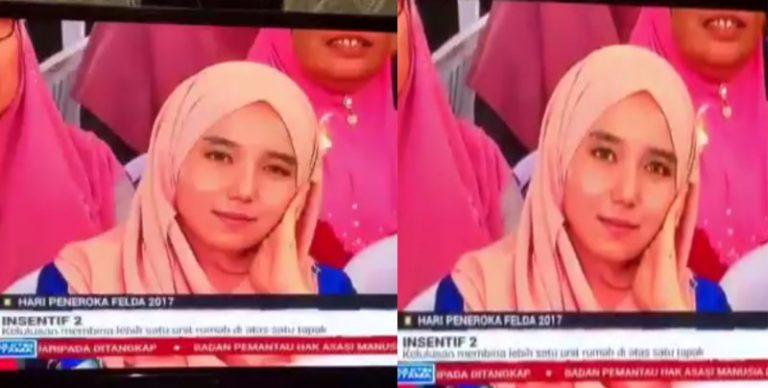 inilah identiti sebenar gadis viral kenyit mata di berita tv3 278