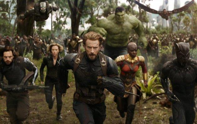 inilah rekod kutipan luar biasa filem avengers infinity war pada minggu pertama tayangan 1