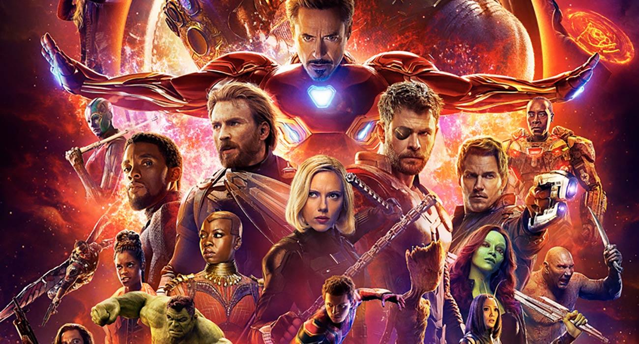 inilah rekod kutipan luar biasa filem avengers infinity war pada minggu pertama tayangan 2