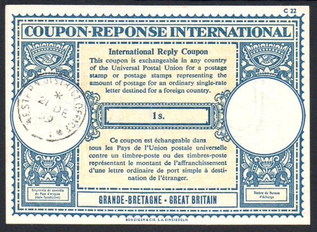 international reply coupon