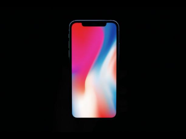 iphone 8 lebih bergaya tanpa takuk pada bahagian atas seperti iphone x