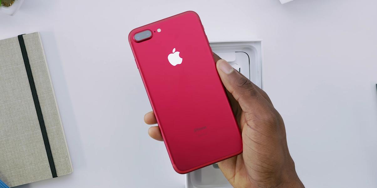 iphone merah