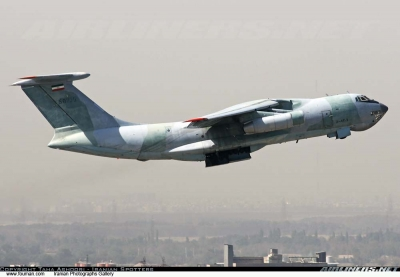 iranian air force ilyushun ii 76