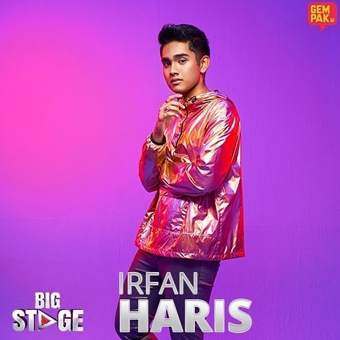 irfan haris big stage musim 2