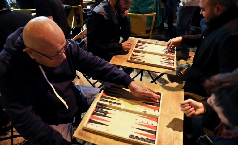 israel dan palestin berdamai main dam shesh besh backgammon