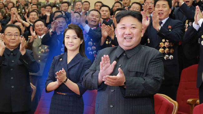 isteri kim jong un pemimpin korea utara