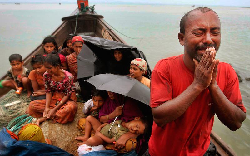 isu pelarian rohingya