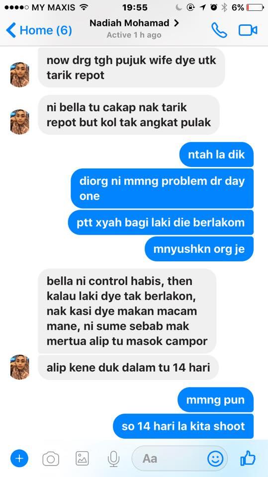 isu rumah tangga aliff aziz rakan afifah nasir tampil dedah kisah sebenar di bilik karaoke 5